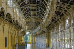 Główna zdrój kolumnada w Marianske Lazne obrazy royalty free