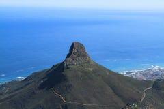 Główne atrakcje Kapsztad, Południowa Afryka Obraz Stock