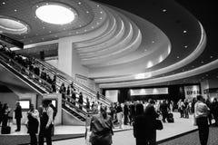 Główne wejście Oracle OpenWorld konferencja w Moscone convention center zdjęcia stock