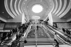 Główne wejście Oracle OpenWorld konferencja w Moscone convention center fotografia stock