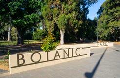 Główne wejście przy Adelaide botanicznym parkiem fotografia royalty free