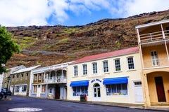 Głównej Ulicy Jamestown St Helena fotografia royalty free