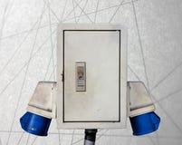 Głównej władzy prymki abstrakta linii tło Fotografia Stock