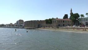 Główni punkty zwrotni Larnaka, Cypr zdjęcie wideo