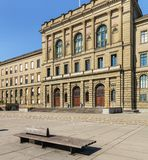 Główny budynek Szwajcarski Federacyjny instytut technologii w Zu zdjęcia royalty free