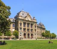 Główny budynek uniwersytet Bern obrazy royalty free