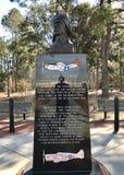 Główny centerpiece Tuskegee lotnicy Pomnikowi fotografia stock