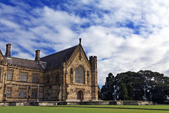 główny czworoboka Sydney uniwersytet obrazy royalty free