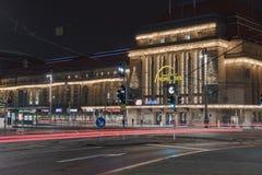 Główny dworca budynek w Leipzig obrazy royalty free