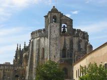 Główny kościół klasztor Tomar budował rycerza templariuszem w Portugalia fotografia stock