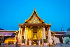 Główny kościół Wat Phra Sri Mahathat w Phitsanulok Zdjęcia Stock
