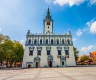 Główny miasto kwadrat - urząd miasta w Chelmno Obraz Royalty Free