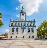 Główny miasto kwadrat - urząd miasta w Chelmno Zdjęcia Royalty Free
