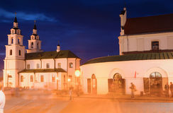 Główny Ortodoksalny kościół Minsk Obrazy Royalty Free