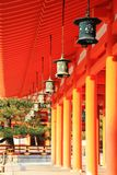 Główny pałac w Heian świątyni zdjęcia stock