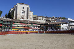 Główny plac Chinchon nawracał w bullring, Hiszpania Fotografia Stock