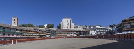 Główny plac Chinchon nawracał w bullring, Hiszpania Fotografia Royalty Free