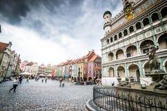 Główny plac Poznański Obrazy Royalty Free