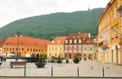 Główny plac w Brasov, Rumunia Zdjęcie Stock
