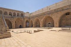 Główny podwórze stary forteca obraz stock