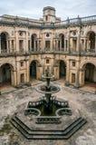 Główny przyklasztorny klasztor Chrystus w Tomar, Portugalia obrazy royalty free