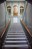 Główny schody w Biskupim pałac w Ciudad Real, Castilla los angeles Mancha, Hiszpania Zdjęcie Stock