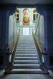 Główny schody w Biskupim pałac w Ciudad Real, Castilla los angeles Mancha, Hiszpania Obrazy Stock