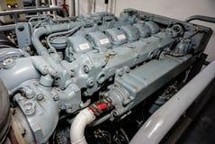 Główny silnik statek Fotografia Stock
