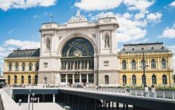 Główny stacja kolejowa budynek w Budapest, Węgry Obrazy Stock
