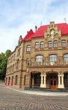 Główny Wydziałowy ministerstwo Emergencies, Lviv, Ukraina obrazy stock