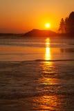 głąb lądu nad dennym wschód słońca obrazy stock
