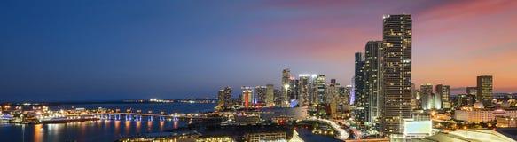 głąbik miasta Miami fotografia royalty free