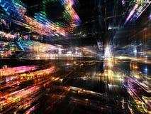 Głębia Fractal świat Obrazy Stock
