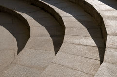 głębocy granitowi schodki Obrazy Stock