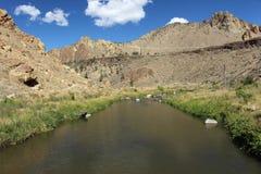 Głęboka jar rzeka Obrazy Stock