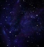 Głęboka przestrzeń, gwiaździsty niebo ilustracji