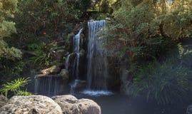Głęboka tropikalna lasowa siklawa Obrazy Royalty Free