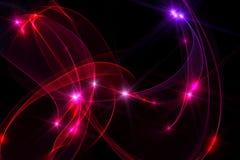 głęboki abstrakcjonistyczny tło - czerwień ilustracja wektor