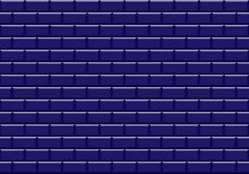 Głęboki błękitny ceramiczny mozaik płytek tekstury tło ilustracja wektor