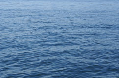 Głęboki błękitny morze Obrazy Royalty Free