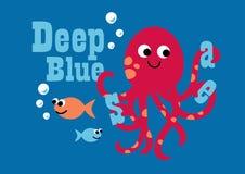 Głęboki błękitny morze. Zdjęcie Stock
