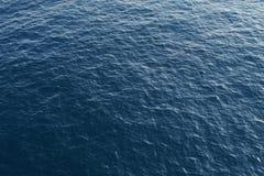 Głęboki błękitny ocean od above Obrazy Stock