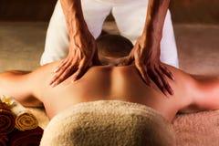 Głęboki tkankowy masaż obrazy royalty free