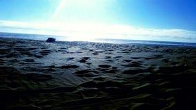 Głęboki widok na ocean Zdjęcia Royalty Free
