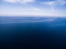głębokie morze niebieskie Zdjęcie Stock