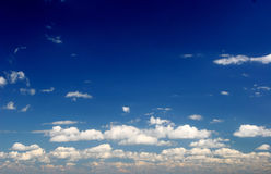 głębokie niebo Zdjęcia Stock