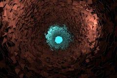 Głębokiej dziury tapeta 2 Zdjęcie Stock