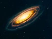 Głębokiej przestrzeni galaxy Obraz Royalty Free