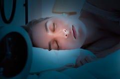 głębokość pola płycizny sypialna kobieta Fotografia Royalty Free