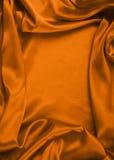 Gładki elegancki czerwony jedwab może używać jako tło Obraz Royalty Free